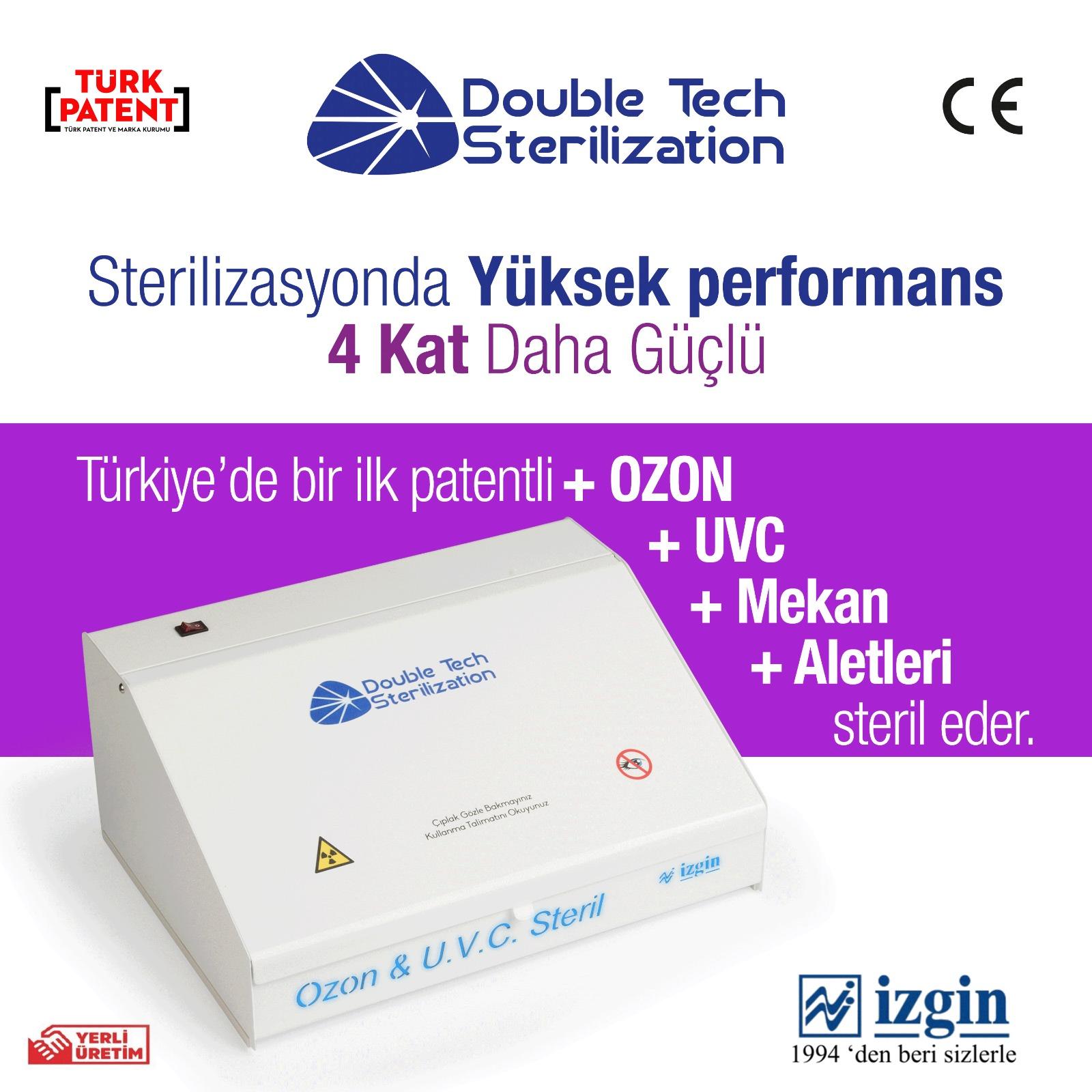 sterilizasyon cihazı double tech